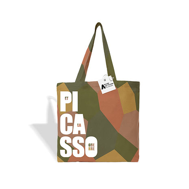 Tote Bag Camouflage Patterns - Picasso and War
