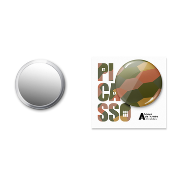 Pocket Mirror Camouflage Patterns - Picasso and war