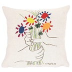 Cushion cover Bouquet of flowers