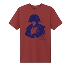 T-shirt Napoleon red