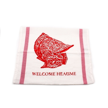 "Torchon ""Welcome Heaume"""