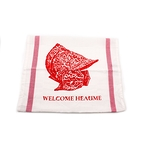 "Tea Towel ""Welcome Heaume"""