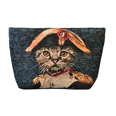 Trousse Lisa Chat Napoleon Bleu