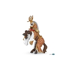 Weapon master stag horse Figurine