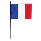 Drapeaux France de table