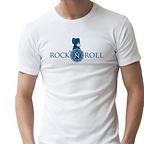 T-Shirt - Rock'N'Roll Bleu
