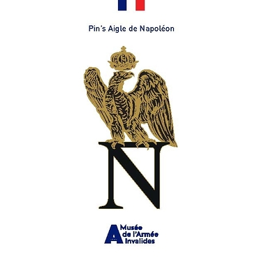 Label pin Napoleon Eagle