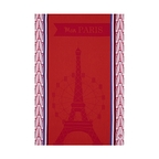 Dish towel Mon Paris - Red