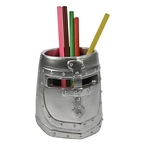 Pencil holder - Medieval helmet
