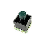 Napoleon Empire green ink bottle