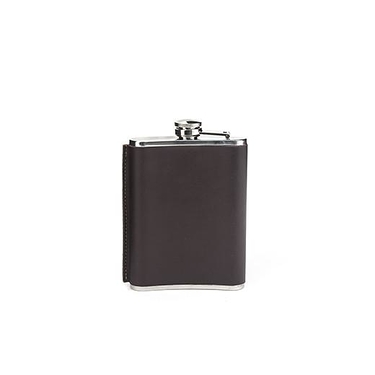 Leather Hip Flask 8OZ