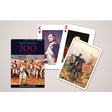 Playing cards Waterloo 1815-2015