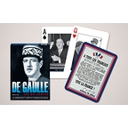 Playing cards De Gaulle