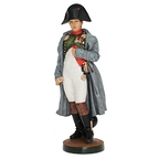 Colored Napoleon statuette