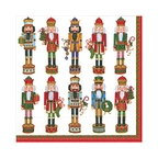 Nutcracker Parade Paper Luncheon Napkins