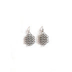 Louison earrings - Silverish
