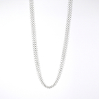 Necklace 104 Basics Silverish