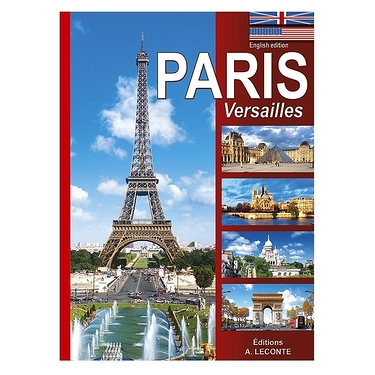 Paris illustré - Anglais