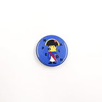 Badge Napoleon Kid Bleu