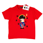 T-shirt child Napoléon Red